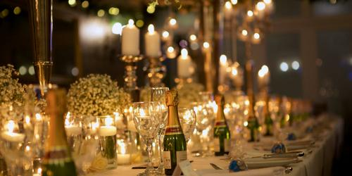 Wedding Table in Candlelight