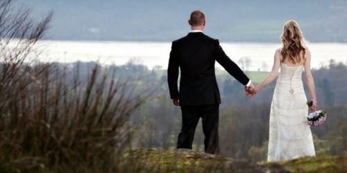 Wedding Couple Lake District