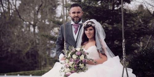 COUNTRY ROSE FAIRYTALE WEDDING AT BROADOAKS