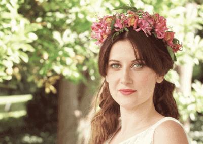 Flower Crown Boho Wedding Lake District