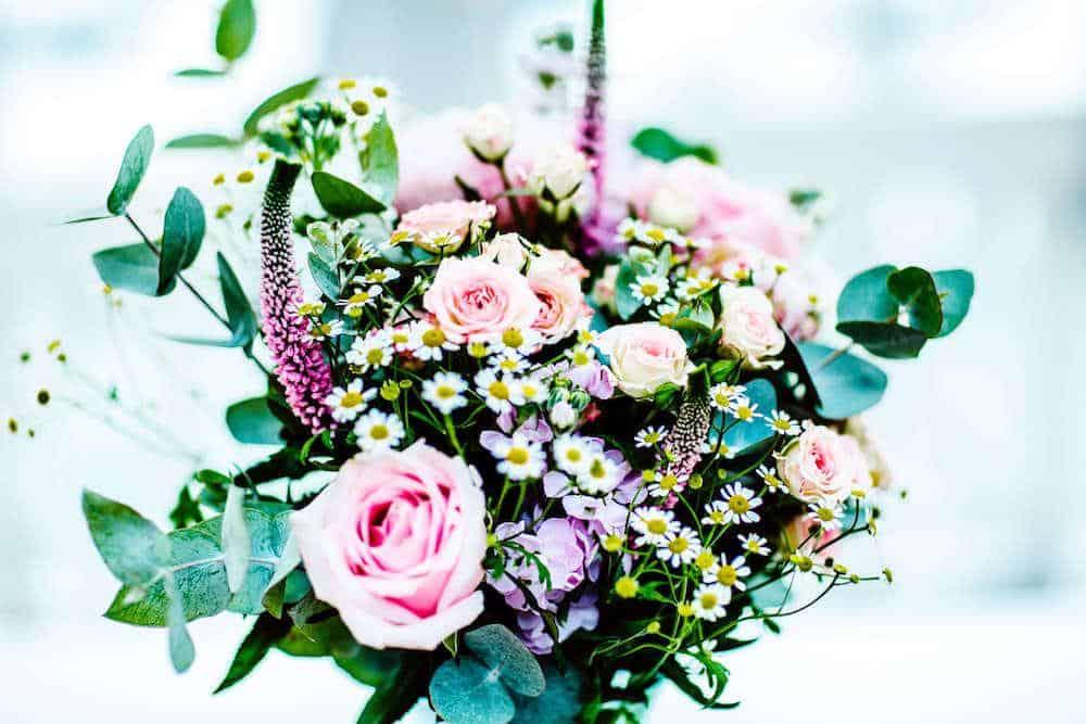Bridal bouquet at Broadoaks Wedding