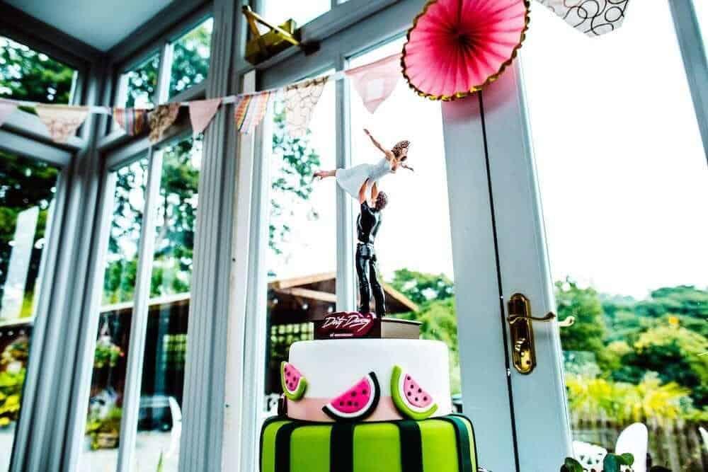 Dirty Dancing wedding cake