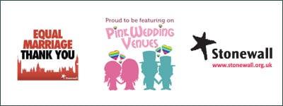 Broadoaks LGBT Wedding logos