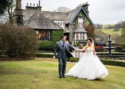Broadoaks Lake District Wedding Hotel New Years Eve Wedding Gallery Image 6