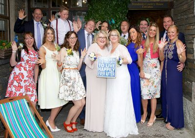 Civil Partnership Venue Windermere May and June The Girls Gallery Image 8