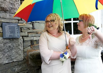 Civil Partnership Venue Windermere May and June The Girls Gallery Image 9