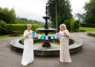 Civil Partnership Venue Windermere May and June The Girls Gallery Image 10