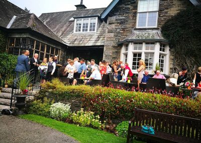 Exclusive Hire Party Venues Lake District 20th Wedding Anniversary Image 4