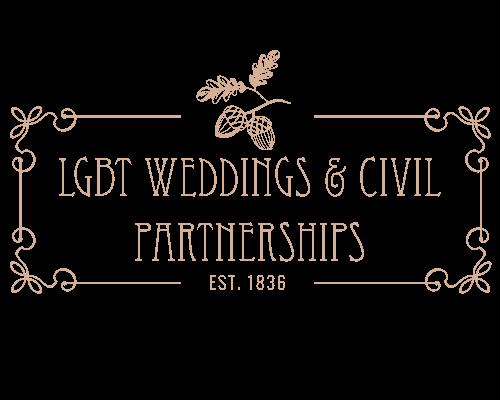 Gay Wedding Venues Broadoaks LGBT Weddings and Civil Partnership Logo 1.0