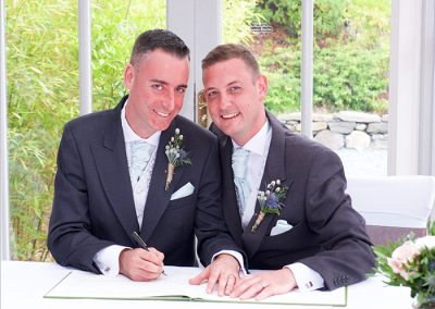 Gay Wedding Venues Lake District July and August The Boys Gallery Image 21
