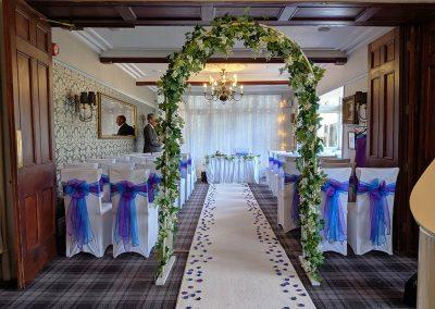 Lake District Wedding Venues Broadoaks Oak Ceremony Image 1
