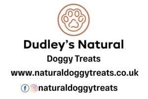 Dudleys Natural Dog Treats Logo