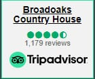 Broadoaks Lake District Wedding Hotel Trip Advisor Reviews Link Icon