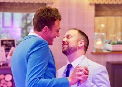 Dancing in the Dark Gay Wedding DJ Cumbria